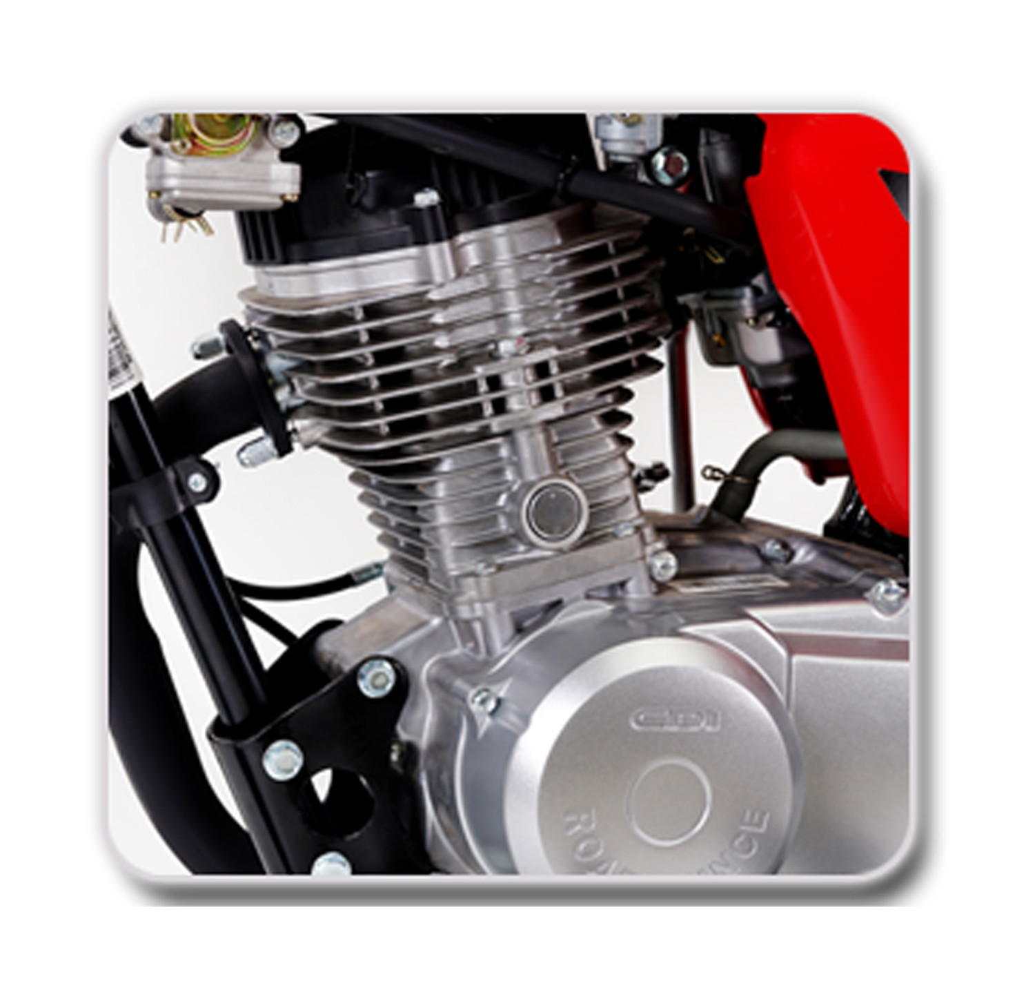 OHV Euro II Powerful Engine with Japanese Technology