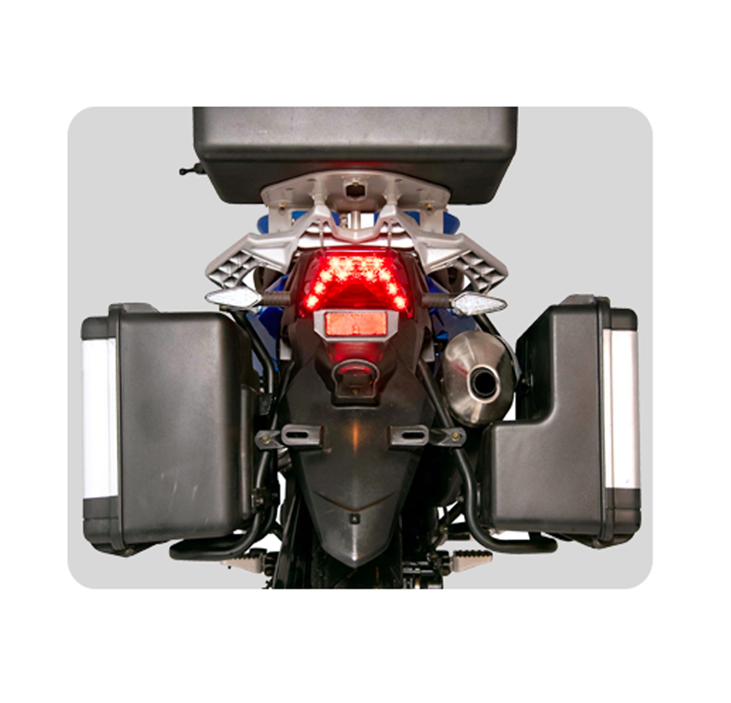 Brighter LED Tail Light with Reflector