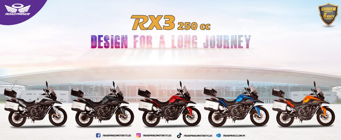 Introducing RX3 in Pakistan